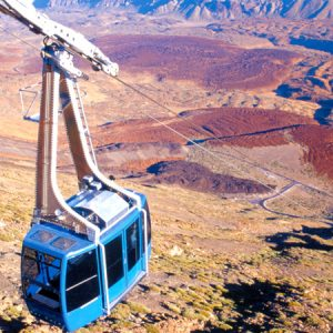 Teide Cable car and Observatory